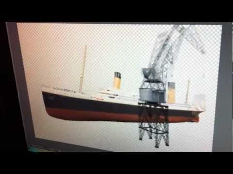 Rebuilding The Titanic - Behind The Scenes video