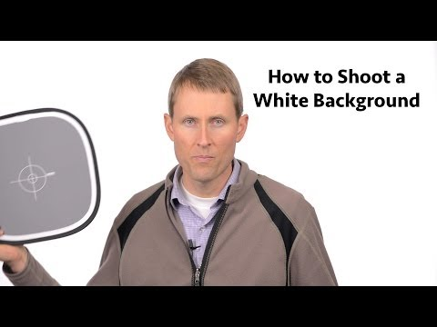 How to Get the White Background Look