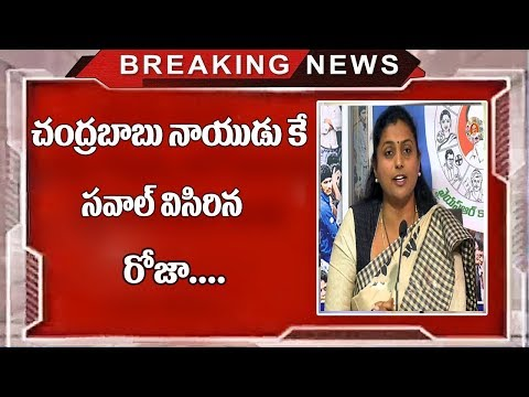 Roja Sensational Comments On Ap Cm Chandrababu Naidu And Nara Lokesh  | YS jagan | TopTeluguMedia