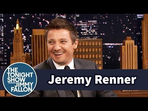 Jeremy Renner Wore Scarlett Johansson's Face