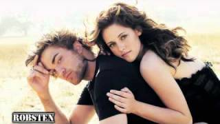 ROBSTEN  Robert Pattinson and Kristen Stewart ......I like... him! .avi