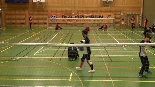 Malmo Open 2016: Lumipallot  (FIN) vs Pirsos Thessaloniki (GRE) 2nd half