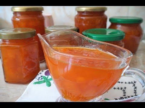 Варенье из абрикосов густое с целыми кусочками