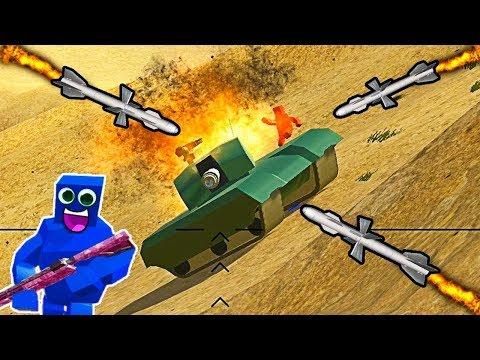 ВОЙНА КВАДРАТОВ ОБНОВЛЕНИЕ видео для детей про сражение квадратных мульт героев в игре Ravenfield