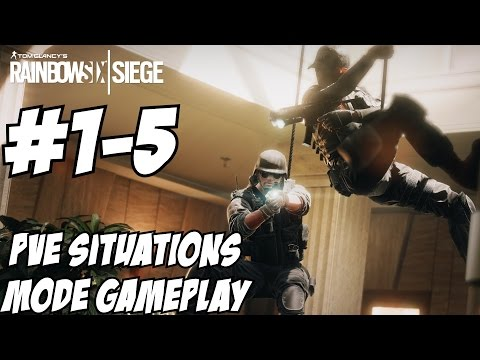 Rainbow Six Siege Situations Mode Gameplay Walkthrougn Part
