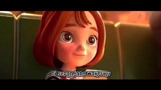 Lirik Dengan Caraku - Brisia Jodie (Cover Aviwkila) versi animasi