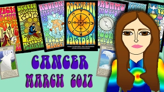 CANCER  March  2017 Tarot psychic reading forecast predictions free