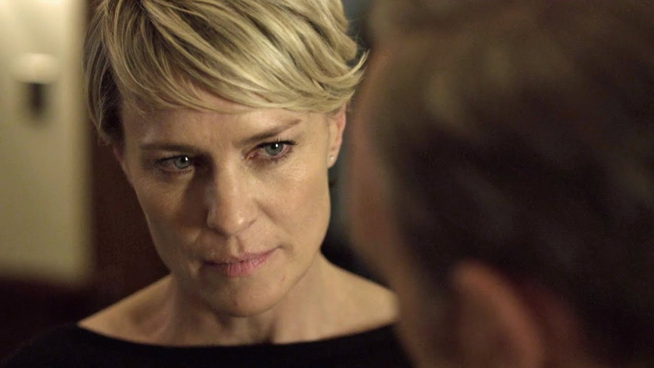 Claire underwood haircut