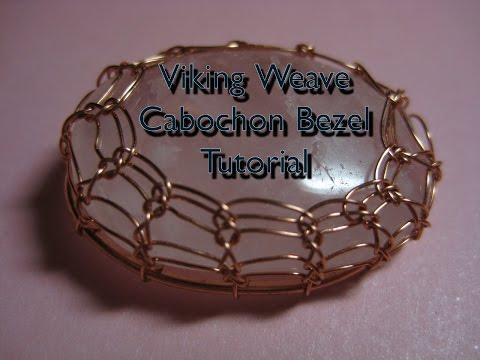 Viking Weave Cabochon Bezel Tutorial