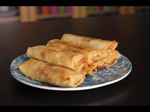 Turon (Filipino Dessert)