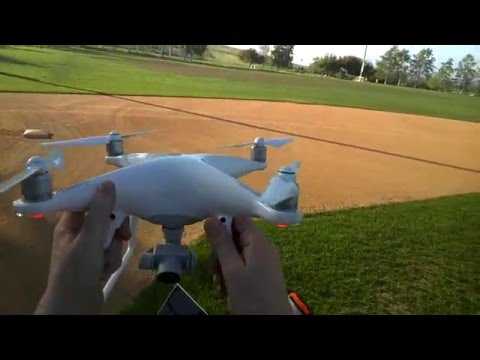 Flight test, DJI PHANTOM 4, object avoidance, Sport Mode and more