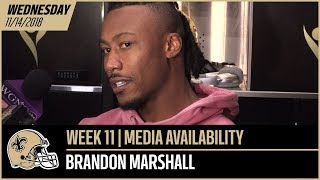 """Brandon Marshall: """"I think it's a wide receiver's dream"""" 