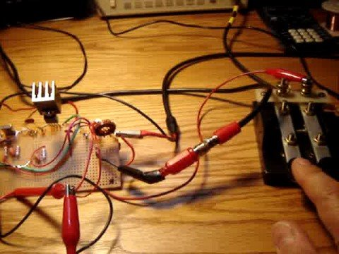 QRP Ham Radio Project - Perfboard Transmitter