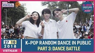 [ROUND 3: DANCE BATTLE] K-POP Random Dance In Public: The Return
