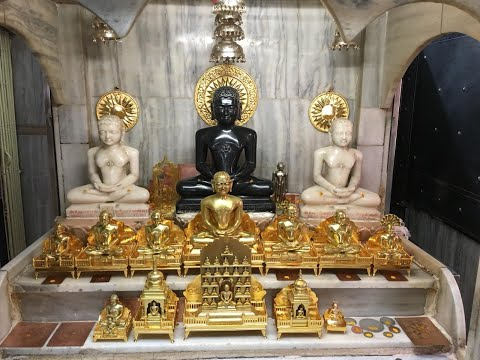 Thane Digamber Jain Mandir video