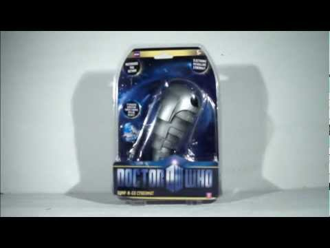 DOCTOR WHO Bump-N-Go Cybermat Toy Review (HQ)
