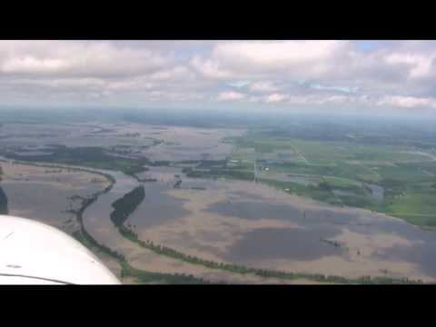 Missouri River Flood June 23, 2011  Rulo, NE to Corning, MO