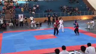 Công Minh thi đấu giải võ cổ truyền Nghệ An mở rộng.