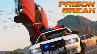 """PRISON BREAK"" GTA 5 - Action Film"