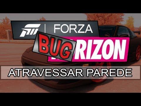 Bug do Forza Horizon #1: Atravessar parede