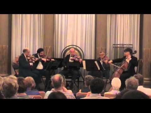 J.Brahms 2 violas String quintett op.111 Quintetto di Venezia 3 mov. live