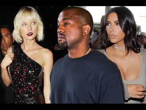 Kanye West Addresses Taylor Swift... 'I'm Glad My Wife had SnapChat.. So Yall Could Know the TRUTH'
