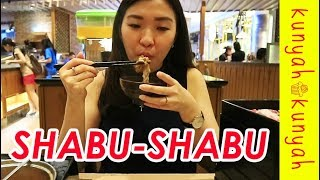 MUKBANG SHABU - SHABU SEHAT DI SHABURI | ALL YOU CAN EAT