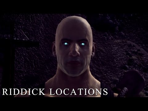 New Vegas: Riddick Race Locations