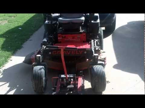 GRAVELY ZERO TURN MOWER REPAIR       mower leaves grass behind while cutting