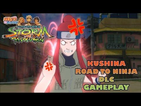Kushina Road To Ninja Jonin Dlc Gameplay - Naruto Shippuden Ultimate Ninja Storm Revolution video