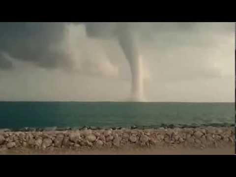 Hurricane off Qatar