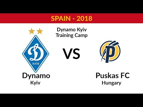 DYNAMO KYIV - PUSKAS ACADEMY (HUNGARY) - FULL MATCH