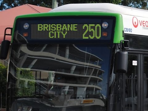 Route 250 - Redland Bay Marina to Brisbane City
