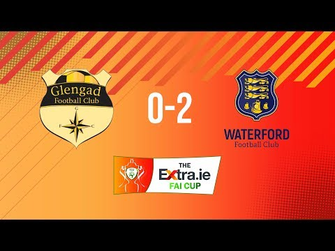 Extra.ie FAI Cup Second Round: Glengad United 0-2 Waterford