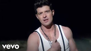 Watch Robin Thicke Pretty Lil