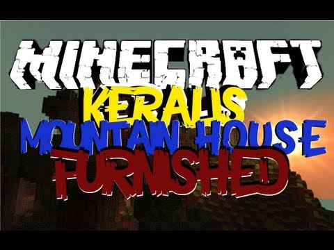 Minecraft Keralis Mountain House Tour Furnished