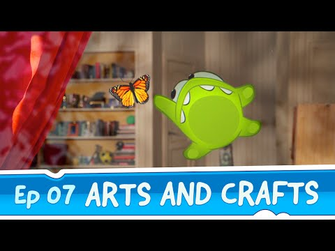 Om Nom Stories: Arts and Crafts (Episode 7, Cut the Rope)