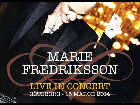 Marie Fredriksson live in concert at Konserthuset in Göteborg 15.03.2014