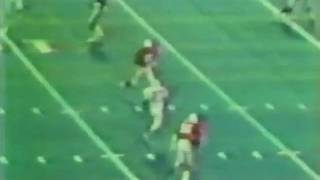 Nat Moore of the Miami Dolphins Scores 3 Touchdowns Vs. Cardinals (1977)