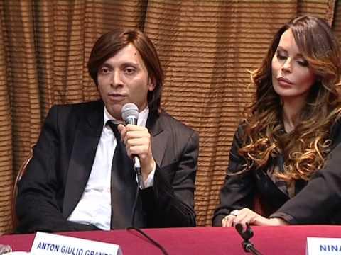 Nina Moric e Anton Giulio Grande
