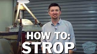 Beginner How To: Straight Razor Stropping FAQ's