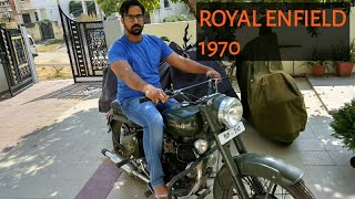Royal Enfield 1970 - it's amazing