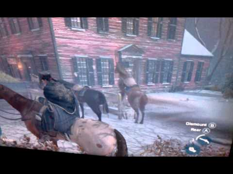 Assassin's Creed 3 Horse Has Sex With Trough video