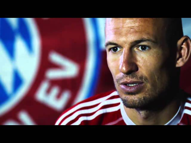 Robben riding high on Bayern's wave of success