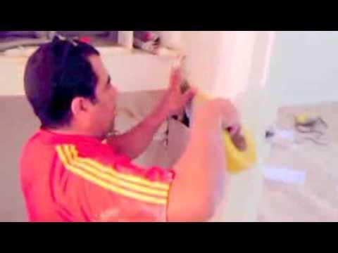 como reparar una pared con filtracion de agua