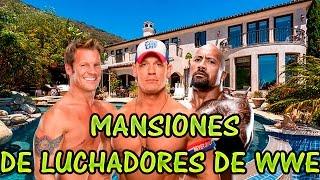 LAS 11 MEJORES MANSIONES DE LOS LUCHADORES DE WWE