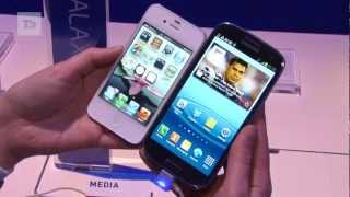 Samsung Galaxy S3 vs iPhone 4S test comparison