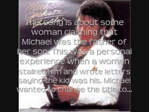 Song Facts And Meaning For: Bille Jean (Michael Jackson)
