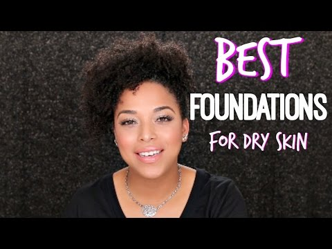 BEST Foundations for BROWN GIRLS with DRY SKIN   Drugstore & High End   MelissaQ
