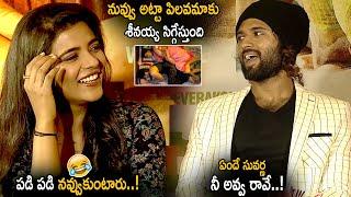 Aishwarya Rajesh Making Fun With Vaijy Devarakonda    World Famous Lover Special interview    LATV